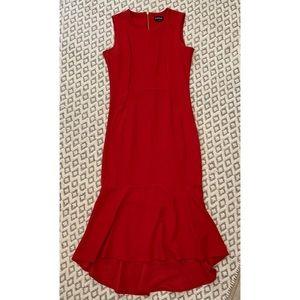 bebe Elegant Red Dress